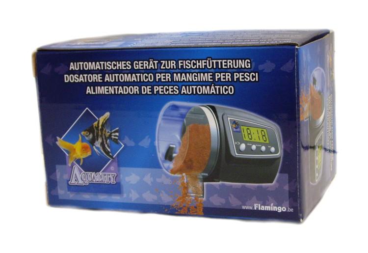 Electr nica acuarios for Alimentador automatico peces